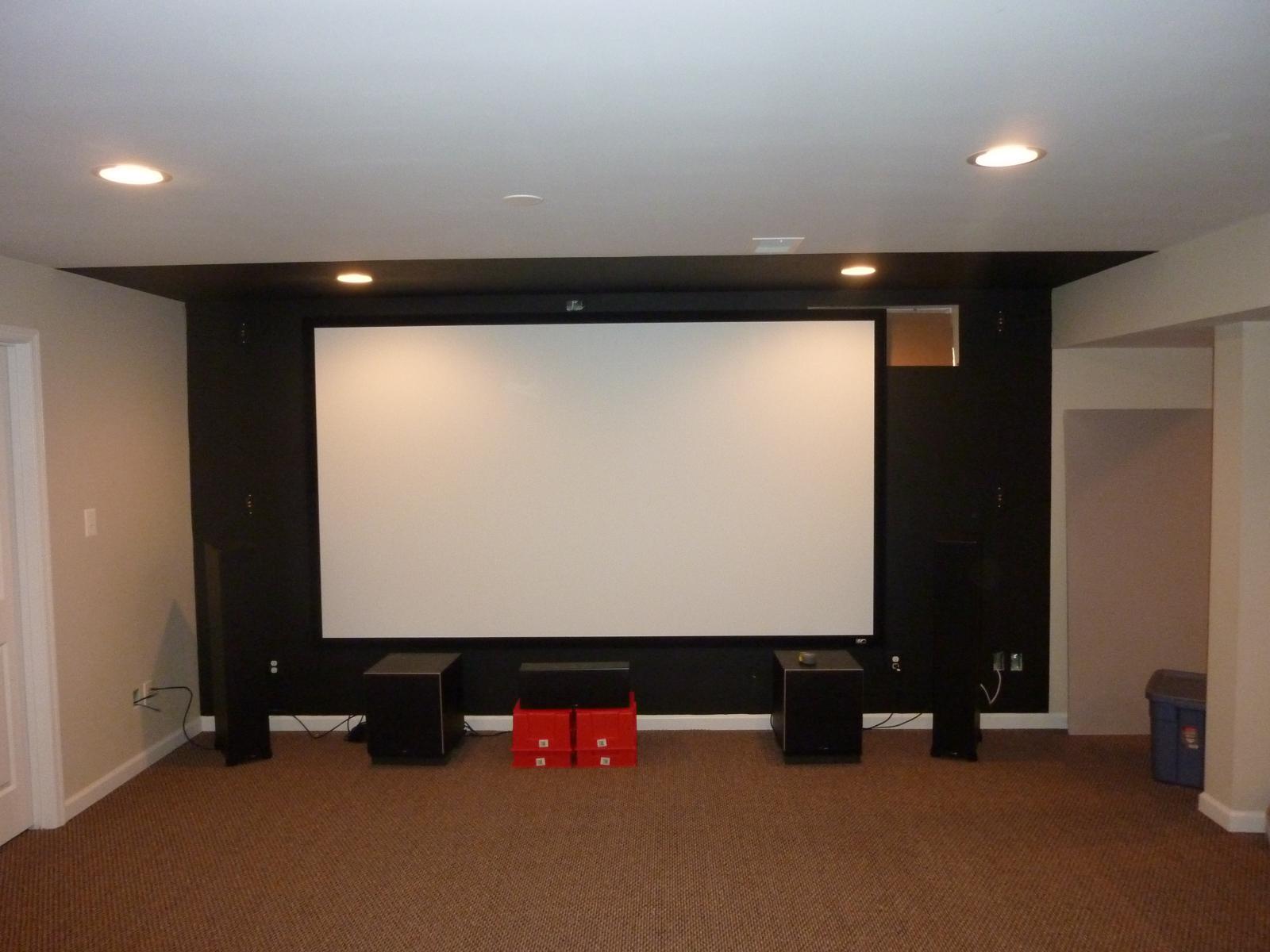 Home Theater Build - 2.0! (a DIY Erskine Design) - AVS Forum | Home